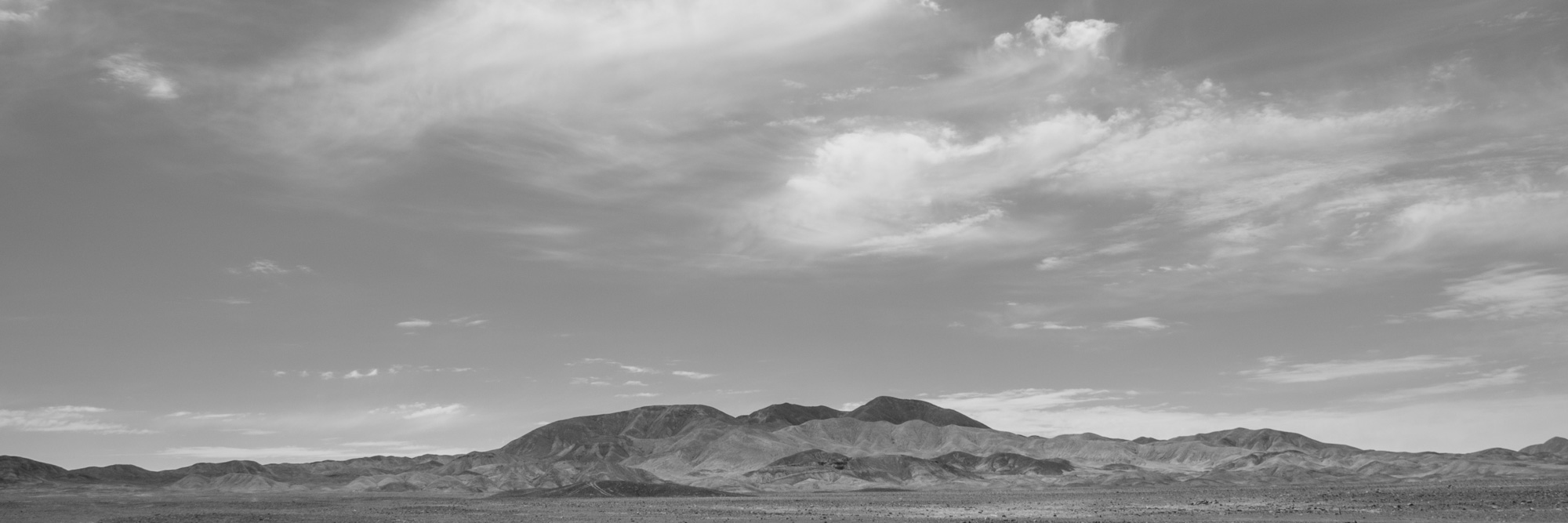 Photograph: Mountains in the Desert